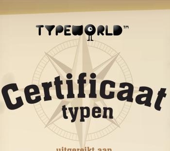 Diploma's bij TYPE-Uniek