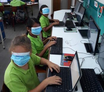 Creatief blindtypen op Curaçao!